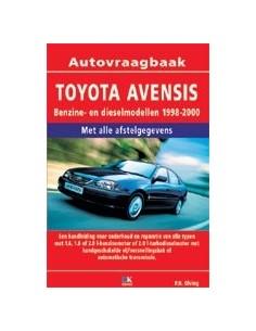 1998 - 2000 TOYOTA AVENSIS BENZINE DIESEL VRAAGBAAK NEDERLANDS