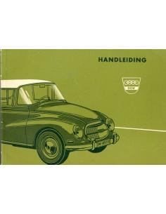 1960 DKW 1000 INSTRUCTIEBOEKJE NEDERLANDS