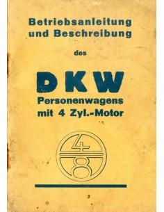 1930 DKW 4-8 INSTRUCTIEBOEKJE NEDERLANDS