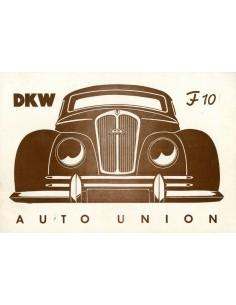 1950 DKW F10 BROCHURE NEDERLANDS