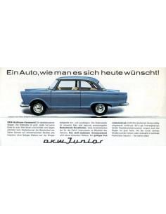 1961 DKW JUNIOR BROCHURE DUITS