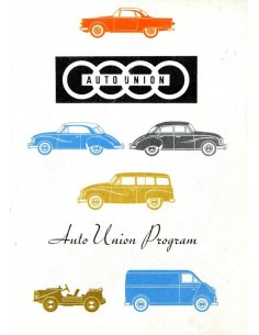 1960 DKW PROGRAMMA BROCHURE ENGELS