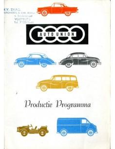1960 DKW PROGRAMMA BROCHURE NEDERLANDS