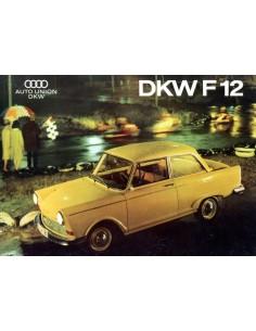 1963 DKW F12 BROCHURE NEDERLANDS