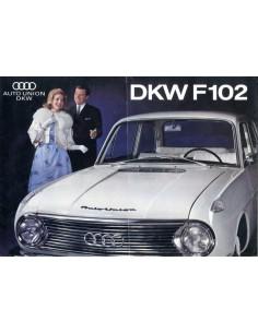 1963 DKW F102 BROCHURE NEDERLANDS