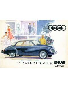 1959 DKW 3-6 BROCHURE ENGELS