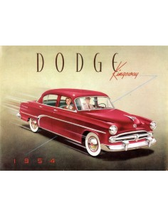 1954 DODGE KINGSWAY BROCHURE NEDERLANDS