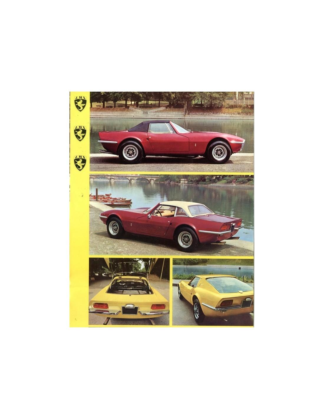 1969 Lmx 2300 Hcs Coupe Spyder Brochure Italian
