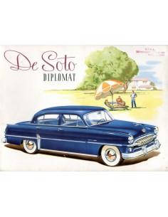 1953 DE SOTO DIPLOMAT BROCHURE ENGELS