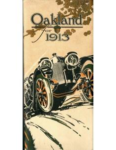 1913 OVERLAND PROGRAMMA BROCHURE ENGELS