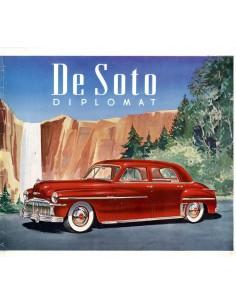 1949 DE SOTO DIPLOMAT BROCHURE ENGELS
