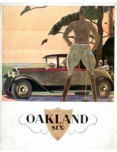 1929 OVERLAND SIX BROCHURE FRANS