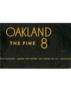 1931 OVERLAND THE FINE 8 BROCHURE ENGELS