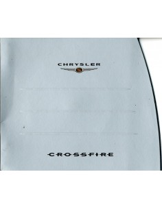 2002 CHRYSLER CROSSFIRE PERSMAP ENGELS