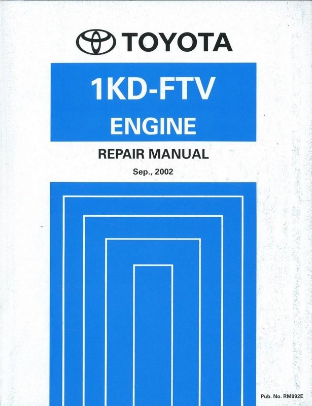 1kd Ftv Service Manual