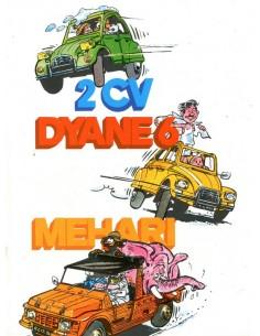 1979 CITROEN 2CV DYANE MEHARI BROCHURE SPAANS
