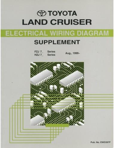 1999 TOYOTA LANDCRUISER ELECTRICAL    WIRING       DIAGRAM