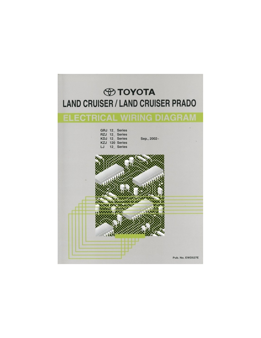 2002 toyota landcruiser prado electrical wiring diagram workshop toyota ignition wiring diagram 2002 toyota landcruiser prado electrische schema's werkplaatshandboek engels