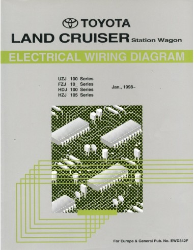 1998 Toyota Landcruiser Station Wagon Electrical Wiring Diagram Wor
