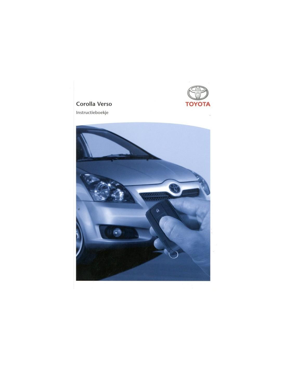 2007 toyota corolla verso owner s manual dutch rh autolit eu toyota corolla verso service manual pdf corolla verso owners manual pdf