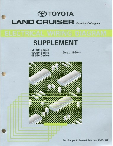 1990 Toyota Landcruiser Station Wagon Supplement