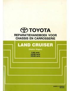 1990 TOYOTA LANDCRUISER STATION WAGON  CHASSIS & CAROSSERIE WERKPLAATSHANDBOEK NEDERLANDS