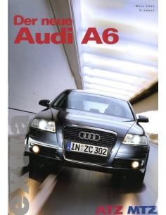 2004 ATZ MTZ AUDI A6 MAGAZINE DUITS