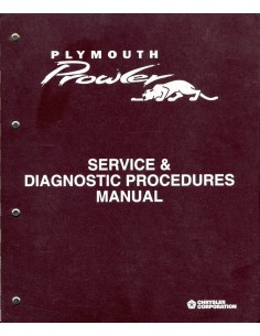 1997 - 1999 PLYMOUTH PROWLER WERKPLAATSHANDBOEK ENGELS