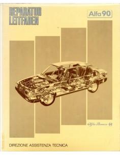 1984 ALFA ROMEO 90 WERKPLAATSHANDBOEK DUITS