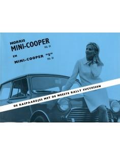 1969 MORRIS MINI COOPER S MK II BROCHURE NEDERLANDS