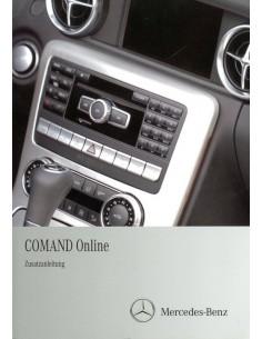 2011 MERCEDES BENZ COMAND ONLINE INSTRUCTIEBOEKJE DUITS
