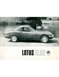 1965 LOTUS ELAN BROCHURE ENGELS