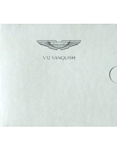 2001 ASTON MARTIN V12 VANQUISH PERSMAP