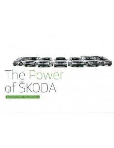 2013 SKODA IAA FRANKFURT PERSMAP ENGELS + USB