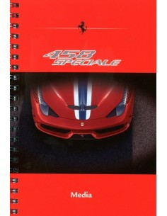 2013 FERRARI 458 SPECIALE MEDIA BROCHURE ENGELS