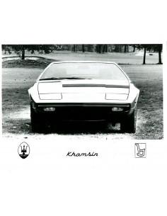 1974 MASERATI KHAMSIN PERSFOTO