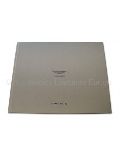 2013 ASTON MARTIN RAPIDE S HARDCOVER BROCHURE DUITS