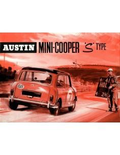 1965 MINI COOPER S BROCHURE ENGELS