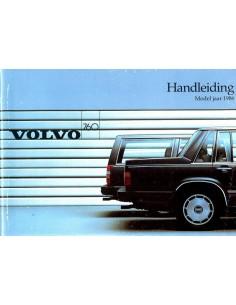 1986 VOLVO 760 INSTRUCTIEBOEKJE NEDERLANDS
