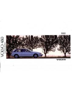1990 VOLVO 480 INSTRUCTIEBOEKJE NEDERLANDS