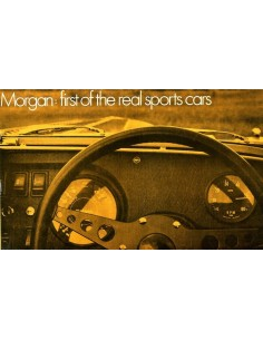 1970 MORGAN +8 & 4/4 1600 TOURER BROCHURE ENGELS