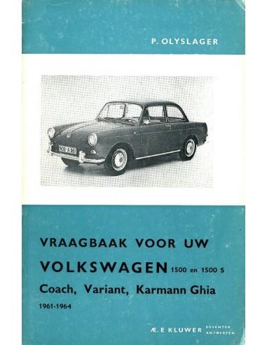 1961 1964 Volkswagen 1500 1500 S Workshop Manual Dutch