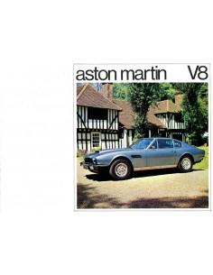 1975 ASTON MARTIN V8 BROCHURE ENGELS