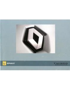 2007 RENAULT TWINGO INSTRUCTIEBOEKJE DUITS