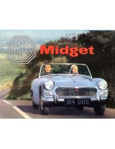 1963 MG MIDGET BROCHURE DUITS