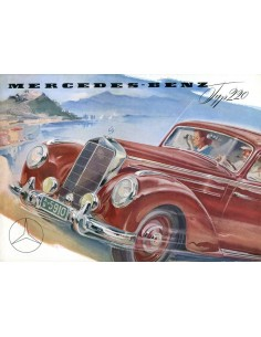 1953 MERCEDES BENZ TYPE 220 BROCHURE DUITS