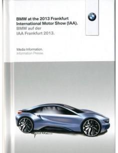 2013 BMW FRANKFURT IAA PERSMAP + 1X USB