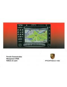 2003 PORSCHE PCM INSTRUCTIEBOEKJE FRENCH