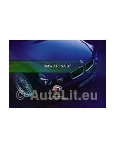 2004 BMW ALPINA B7 PROSPEKT DEUTSCH