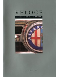 1995 ALFA ROMEO VELOCE MAGAZINE 2
